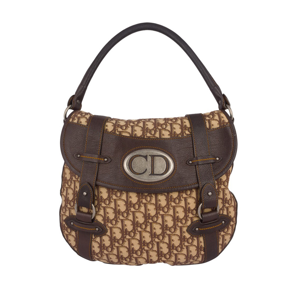 396df2e612c4 ... CHRISTIAN DIOR VINTAGE MONOGRAM BROWN HOBO BAG My Luxury Bargain Source  · Christian Dior Monogram Trotter Handbag Vintage Catawiki
