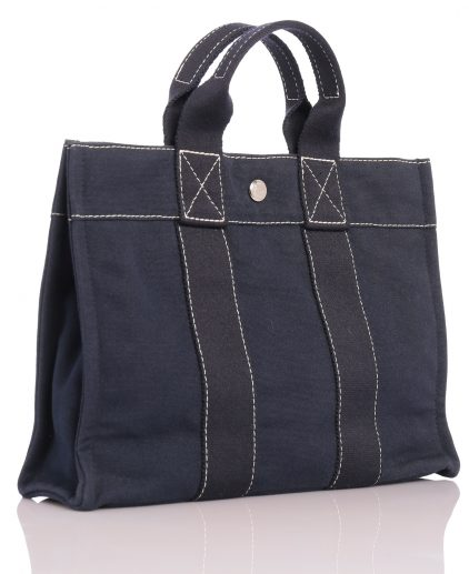Shop Hermes Handbags Online India My Luxury Bargain Hermes Navy Blue Herlin Tote PM