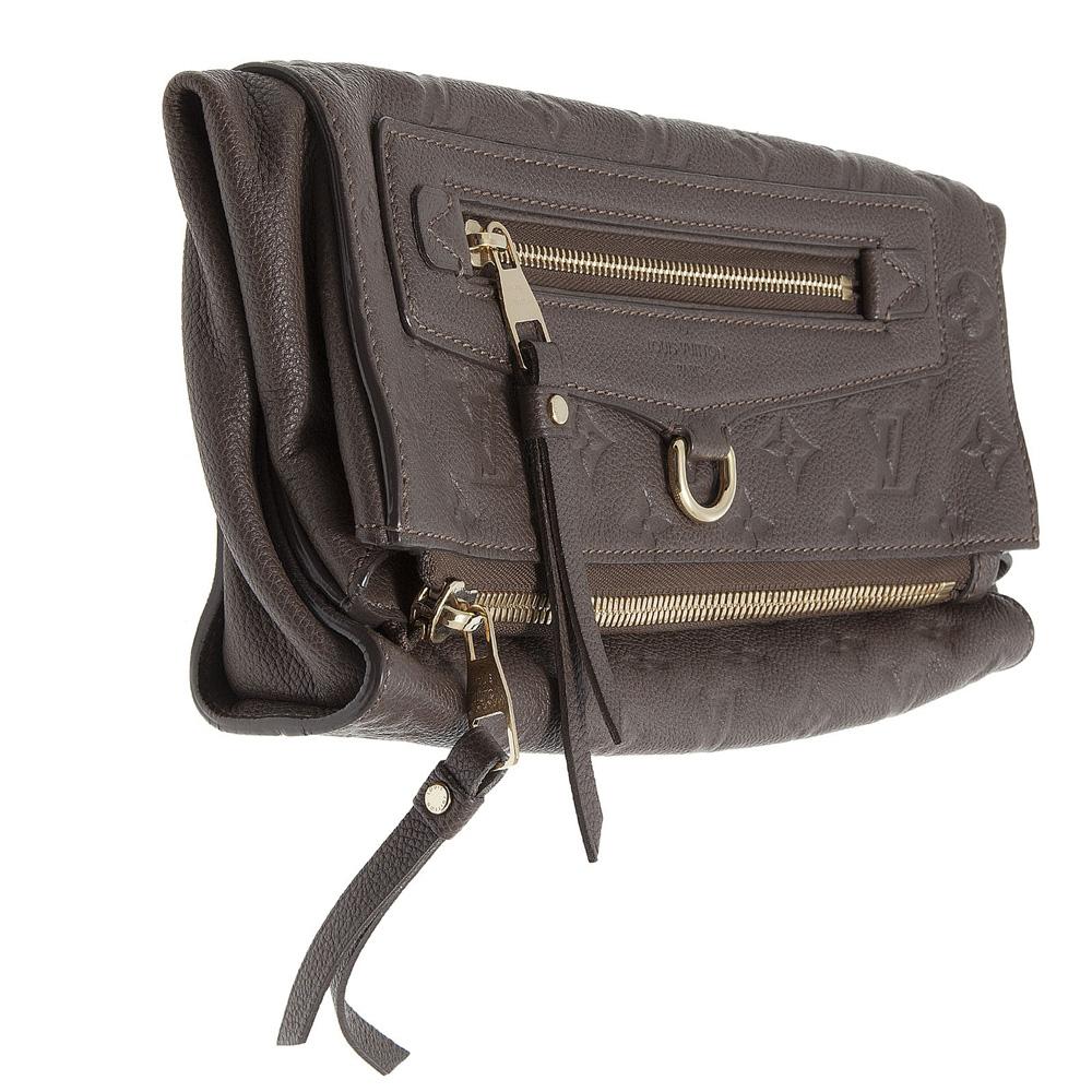 d718a9539bc4 ... Buy Authentic Louis Vuitton bag online My Luxury Bargain LOUIS VUITTON  BROWN MOMNOGRAM EMPRIENTE LEATHER PETILLANTE ...