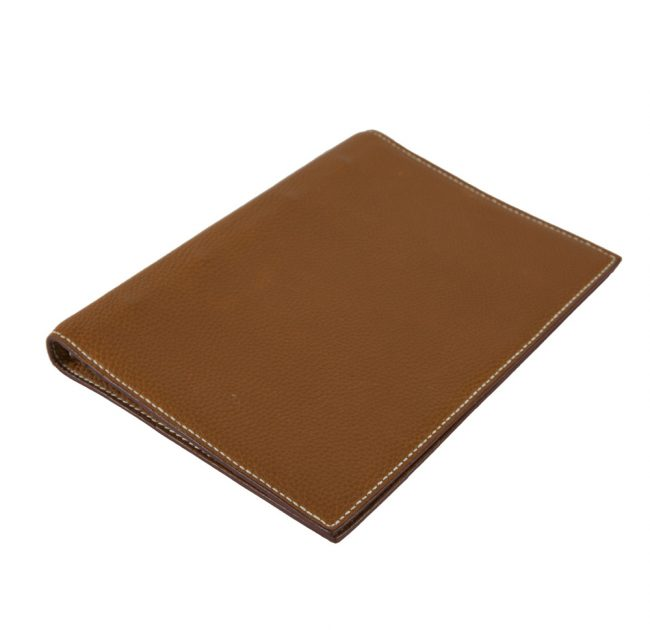 My Luxury Bargain authentic pre owned HERMES TOGO LEATHER AGENDA COVER