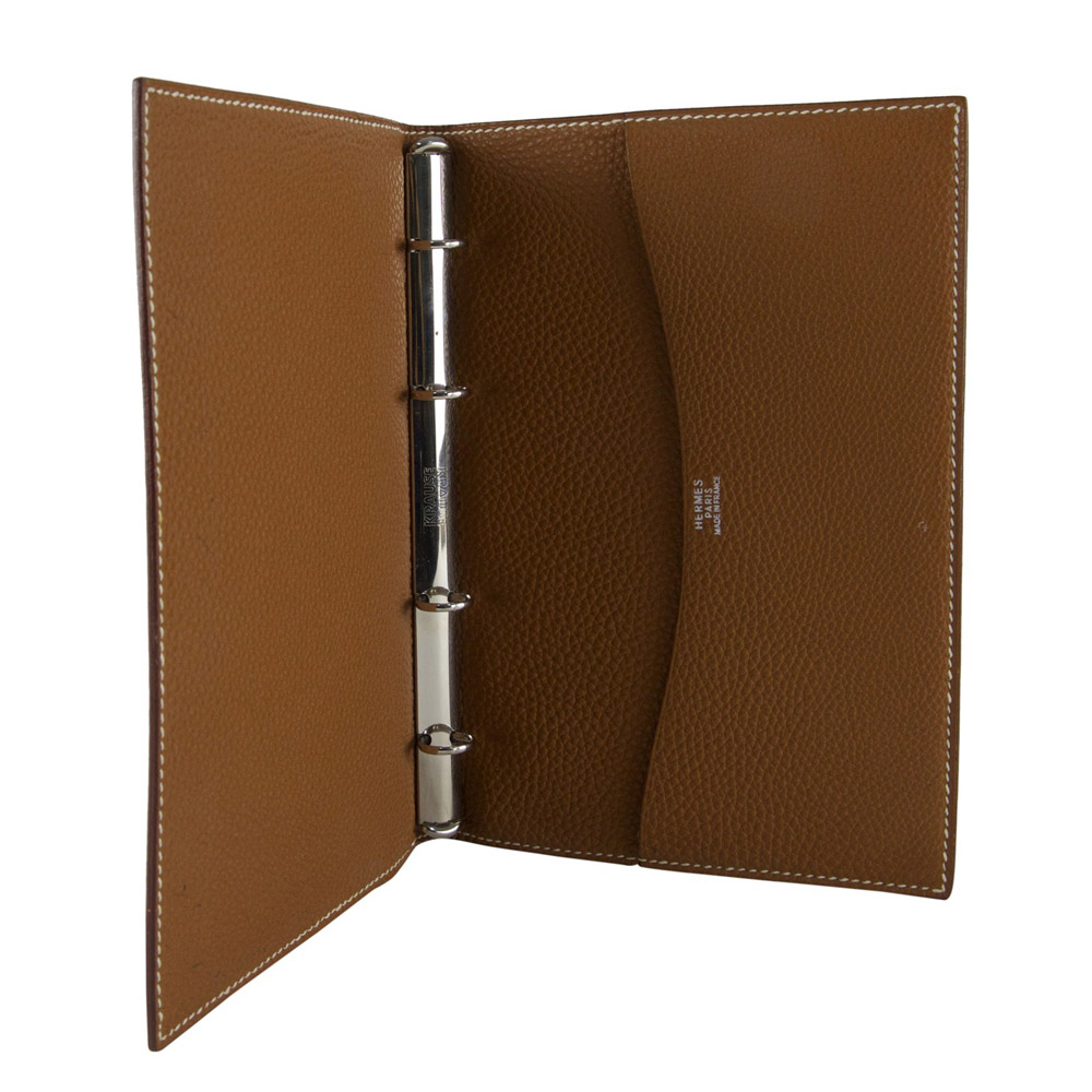 64caaf9e293 Hermes Togo Leather Agenda Cover