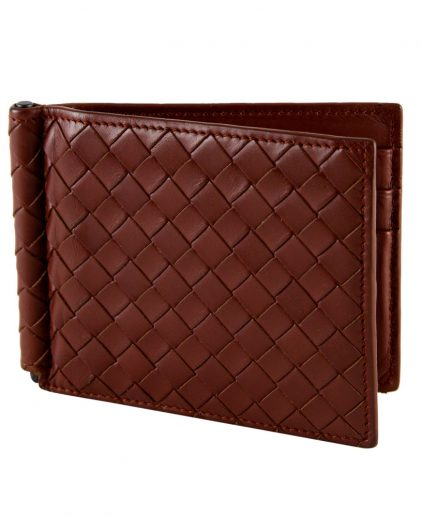 Shop Designer men Wallets Online India My Luxury Bargain Bottega Veneta Brown Intrecciato Wallet