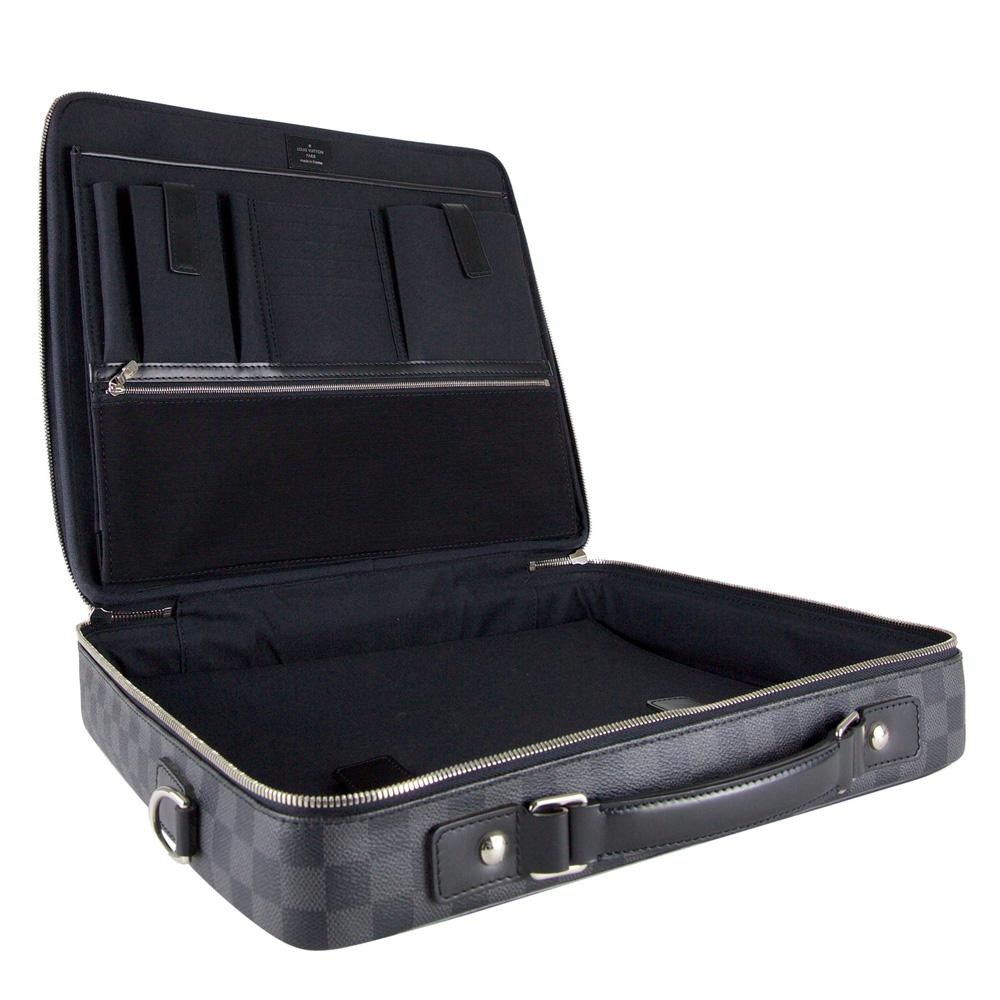 Buy Louis Vuitton Laptop Bag Online My Luxury Bargain LOUIS VUITTON DAMIER  GRAPHITE 4ea43211dcce3