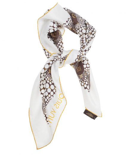 Buy Louis Vuitton Scarf Online My Luxury Bargain Louis Vuitton Kusama Scarf
