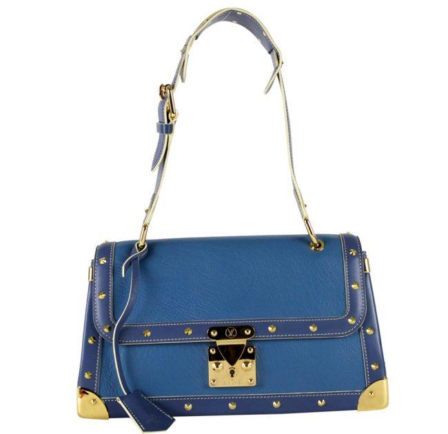 Buy Louis Vuitton bags Online India My Luxury Bargain Louis Vuitton Blue Suhali Leather Le Talentueux Handbag