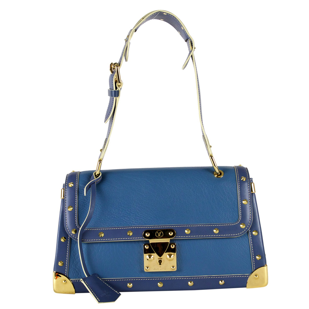Louis Vuitton Bags Online India My Luxury Bargain Blue Suhali Leather Le Talentueux