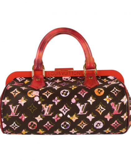 Shop Louis Vuitton Vintage Online In India My Luxury Bargain Louis Vuitton Limited Edition Richard Prince Watercolor Monogram Papillon