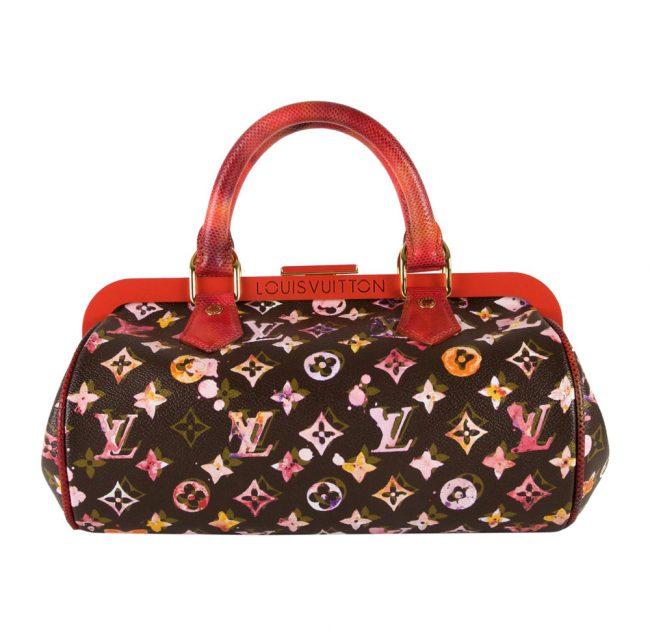 Shop Louis Vuitton Vintage Online In India My Luxury Bargain Louis Vuitton Limited Edition Richard Prince Watercolor Monogram Papillon