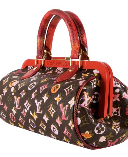 Shop Louis Vuitton Vintage Online In India My Luxury Bargain Louis Vuitton Richard Prince Watercolor Monogram Papillon
