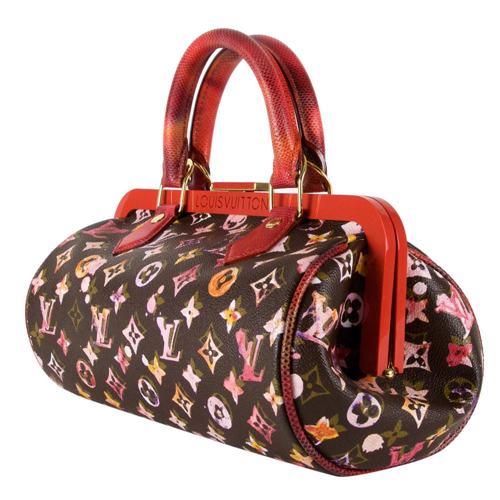60be196c1e ... Shop Louis Vuitton Vintage Online In India My Luxury Bargain Louis  Vuitton Richard Prince Watercolor Monogram ...