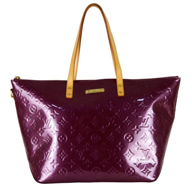 Louis Vuitton Amarante Purple Bellevue Tote GM Handbag