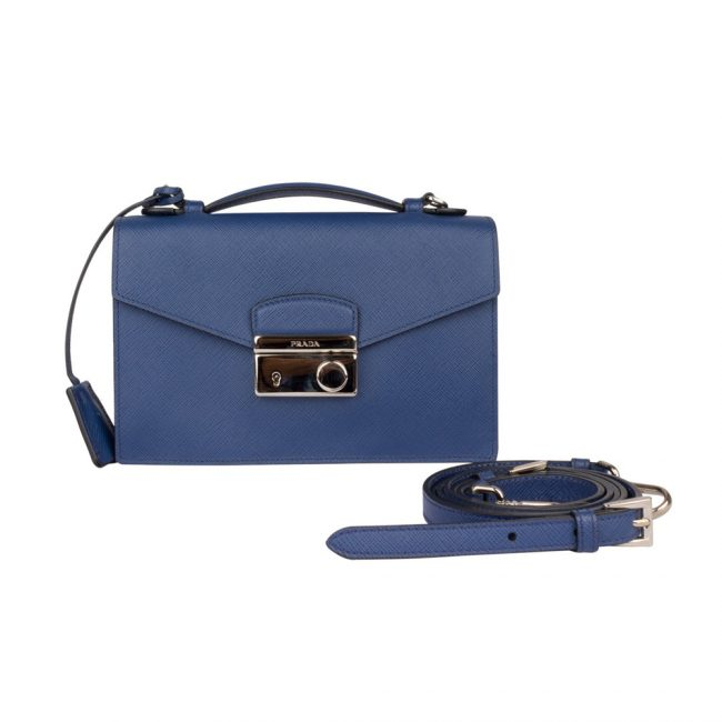 Prada Blue Verinic Crossbody bag