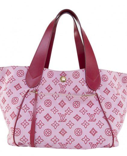 Louis Vuitton Pink Canvas Tote