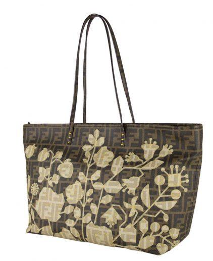 Fendi Limited Edition Spalmati Shopper Tote