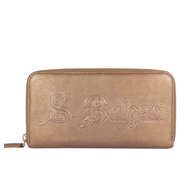 Bvlgari Zip around wallet