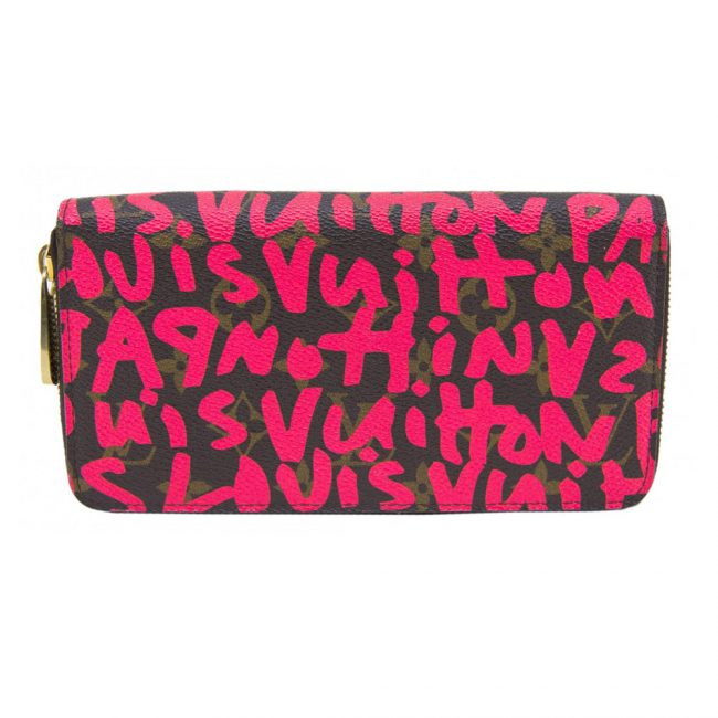 Louis Vuitton Graffiti Fuchsia Zippy Wallet