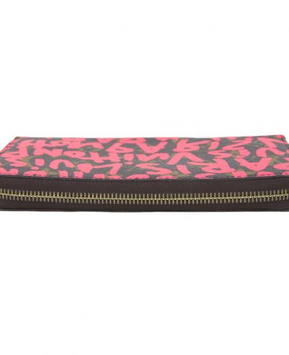 Louis Vuitton Graffiti Fuchsia Zippy Wallet