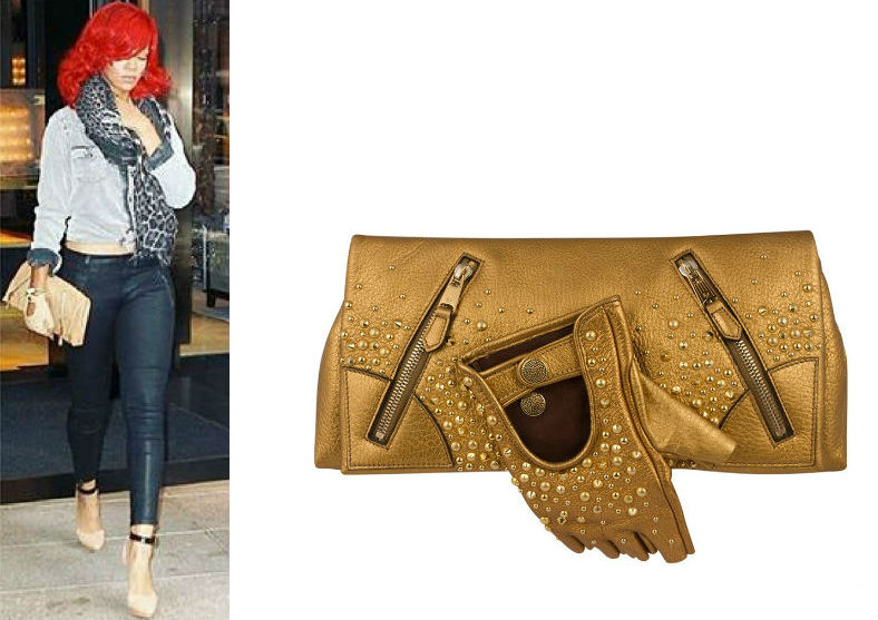 Alexander McQueen Rihanna Faithful Glove Clutch