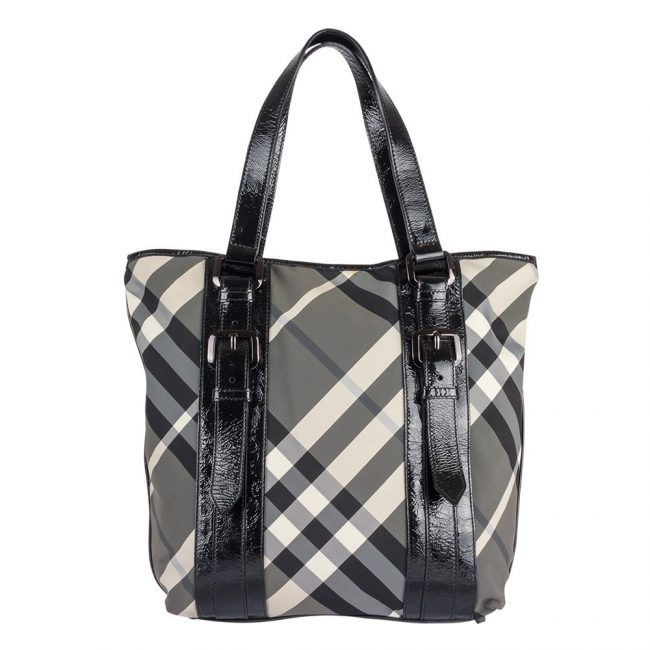 Burberry Lowry Tote Handbag