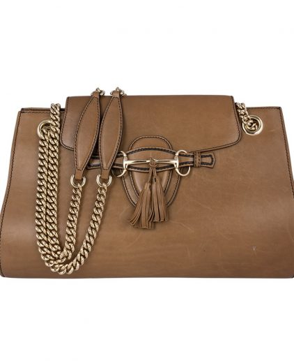 Gucci Brown Large Emily Bag