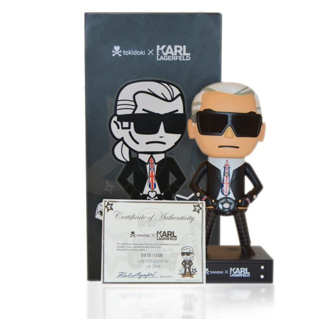 Limited Edition Karl Lagerfeld Doll