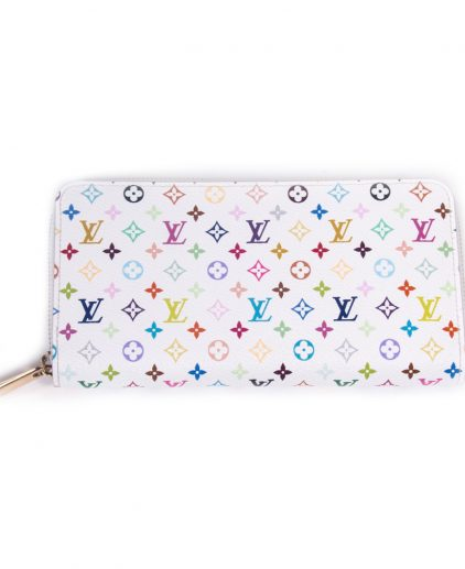 Louis Vuitton Multi Color Monogram Zippy Wallet