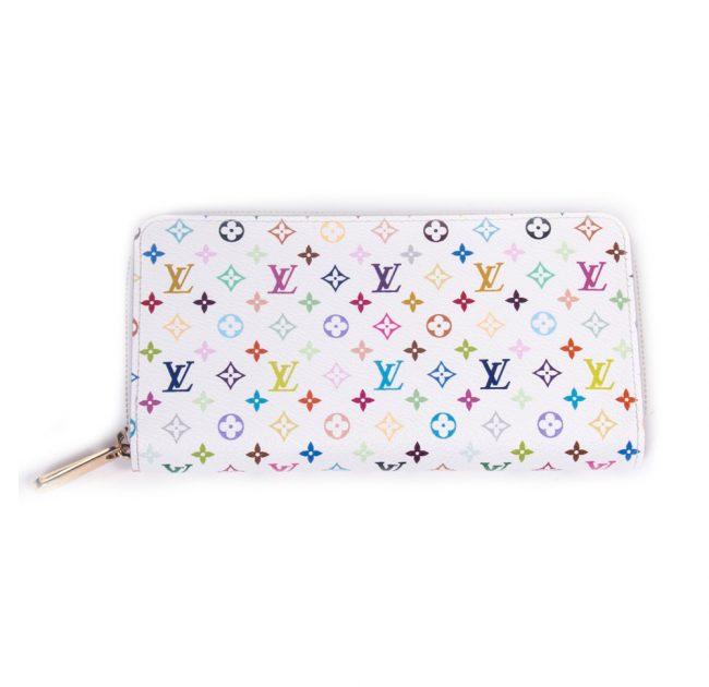 Louis Vuitton Multi Color Monogram Zippy Wallet