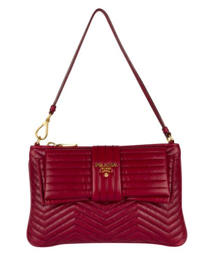 Prada Dark Red Handbag