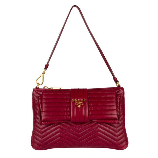 Prada Dark Red Handbag