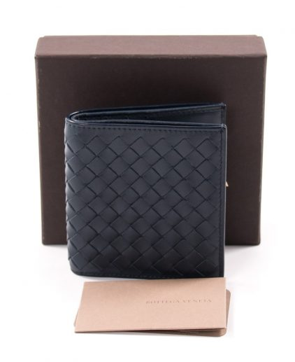 Bottega Veneta Blue Men's Wallet