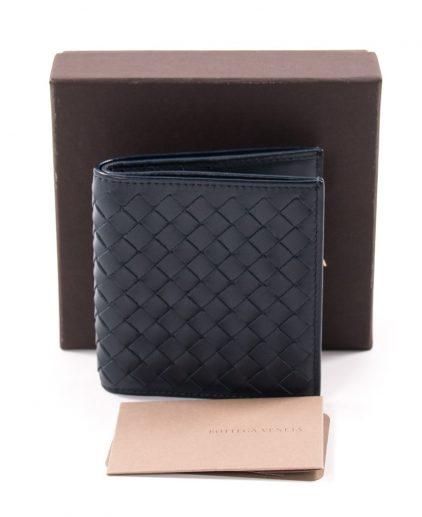 Bottega Veneta Blue Men's Wallet