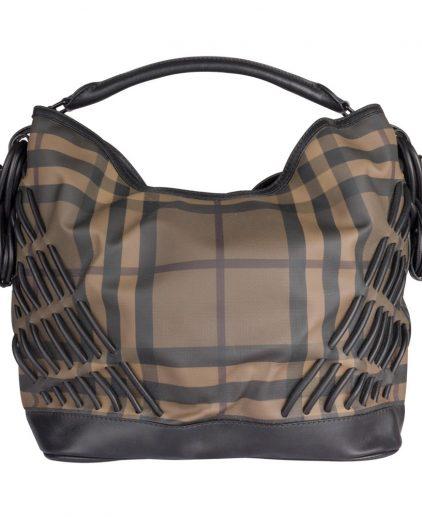 Burberry Brown Hobo Bag