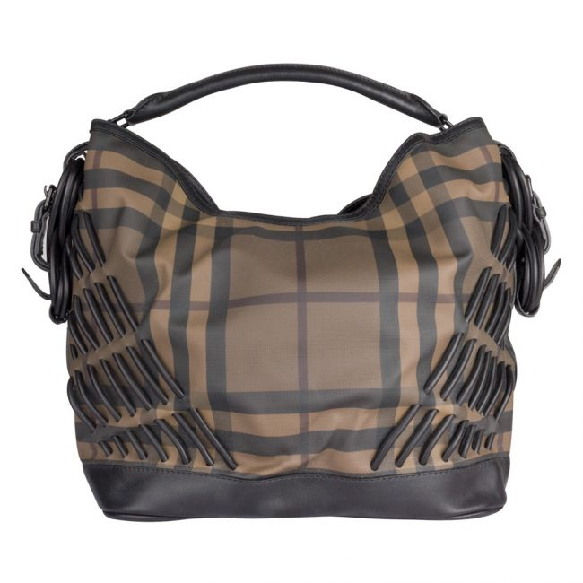 Burberry Brown Hobo Bag