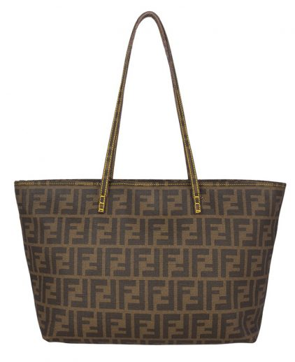 Fendi Brown Shopper Tote