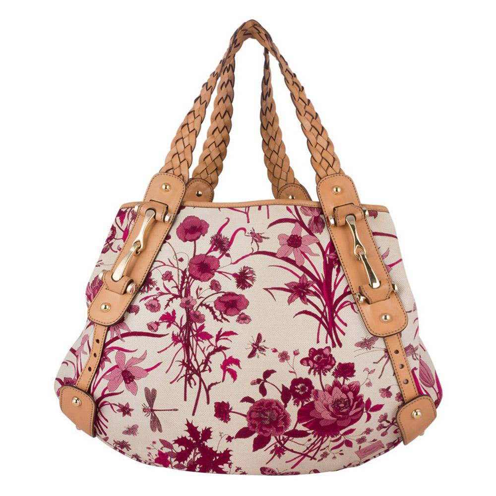 gucci bags india. gucci floral canvas horsebit pelham shoulder bag bags india a