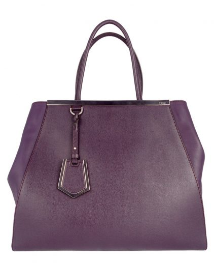 Fendi Purple 2Jours handbag