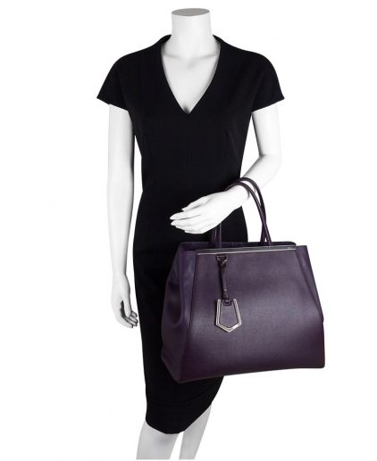 Fendi Purple 2Jours handbag