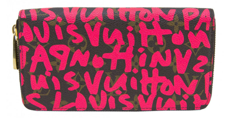 Louis Vuitton Stephen Sprouse Graffiti Fuchsia Zippy Wallet