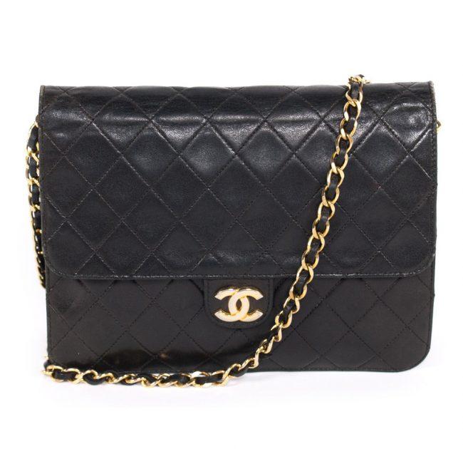 Chanel Vintage Classic Square Flap Handbag