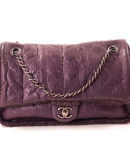 Chanel Purple Flap bag