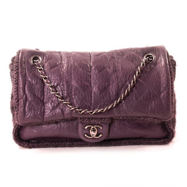 Chanel Purple Flap bag