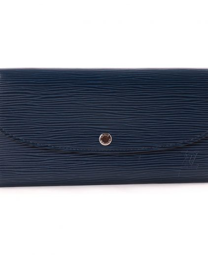 Louis Vuitton Blue Epi Leather Emilie Wallet