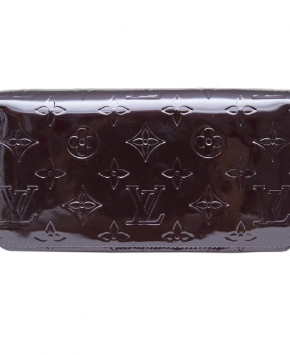 Louis Vuitton Amarante Monogram Vernis Leather Wallet