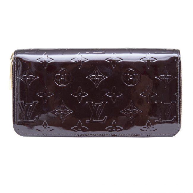 Louis Vuitton Amarante Monogram Vernis Leather Wallet