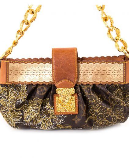 Louis Vuitton Monogram Dentelle Kristene Handbag