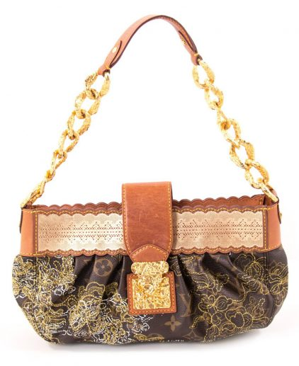 Louis Vuitton Monogram Dentelle Kristene Handbag