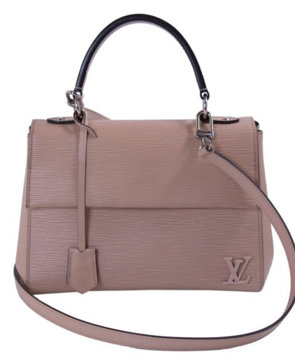 Louis Vuitton Rose Nacre Epi Leather Cluny Shoulder Bag BB