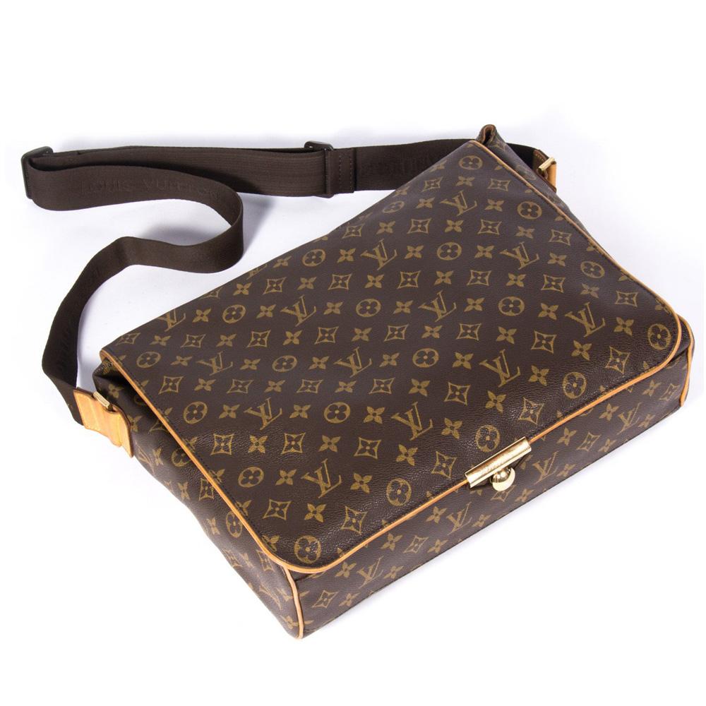 44601513f773 Louis Vuitton Monogram Canvas Abbesses Messenger Bag