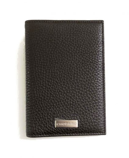 Chopard Brown Leather Travel Wallet