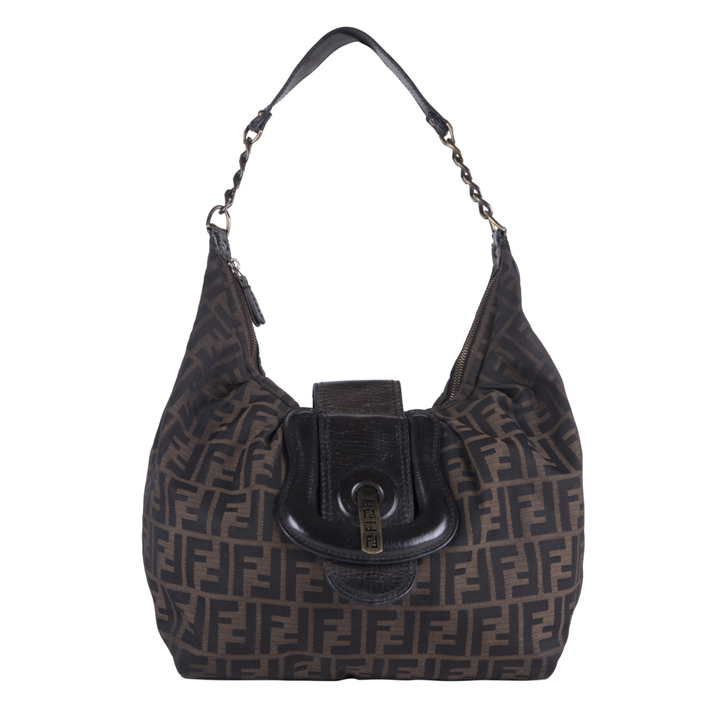 b8d39870a200 ... australia fendi brown zucchini canvas b bag 6132d 7c428 ...